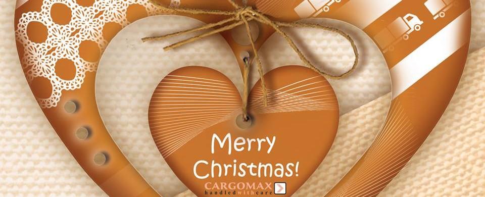 Priecīgus Ziemassvētkus novēl Cargomax!