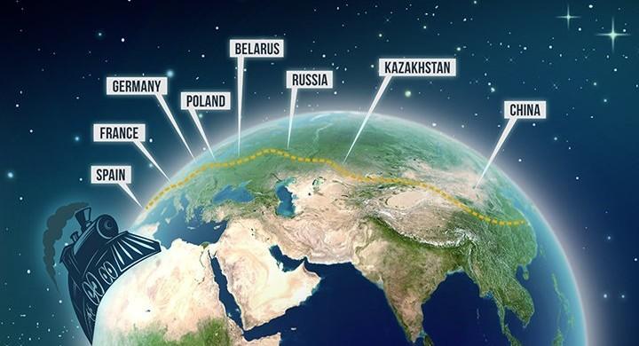 Pasaules garākā dzelzceļa līnija no Ķīnas līdz Spānijai un atpakaļ: Jaunais Zīda ceļš piedāvā Militzer & Münch holdingam un klientiem lielas iespējas.