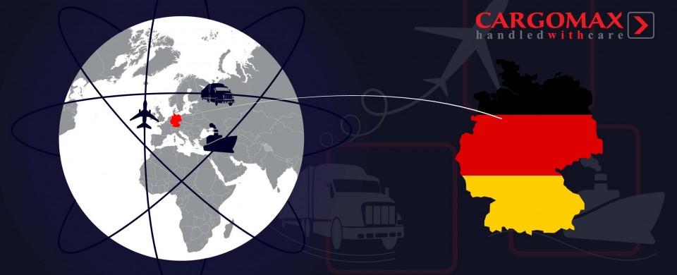 Starptautiskie kravu pārvadājumi. Vācija - Latvija. Cargomax