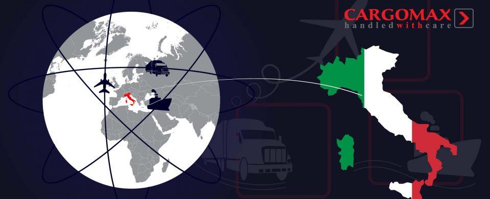 Starptautiskie kravu pārvadājumi no Itālijas katru nedēļu